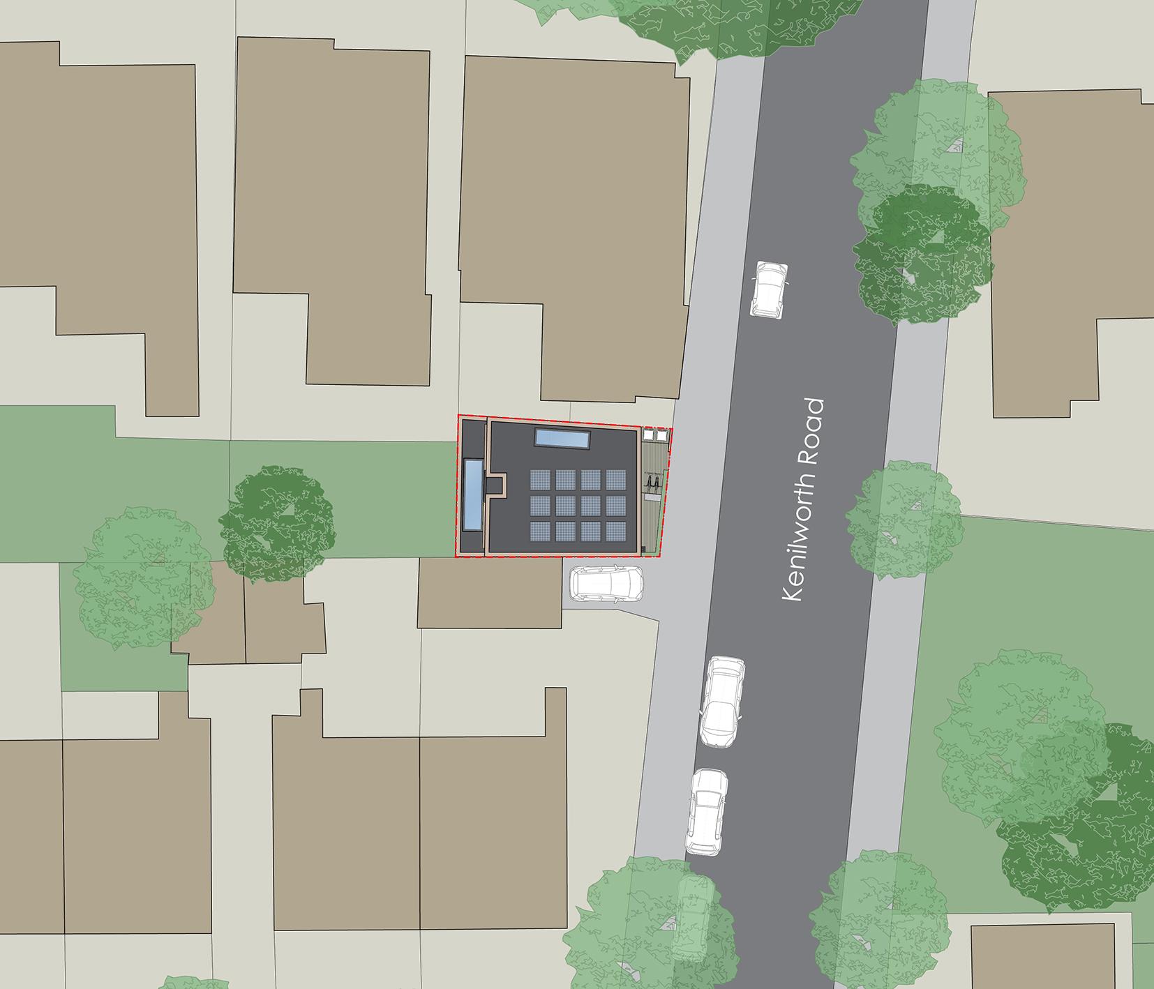 Land to rear of 72 Grange Road